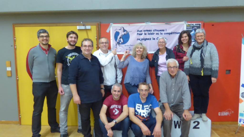 Bénévoles Cercle d'Escrime de Wittenheim