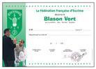 diplome-blason-vert-escrime