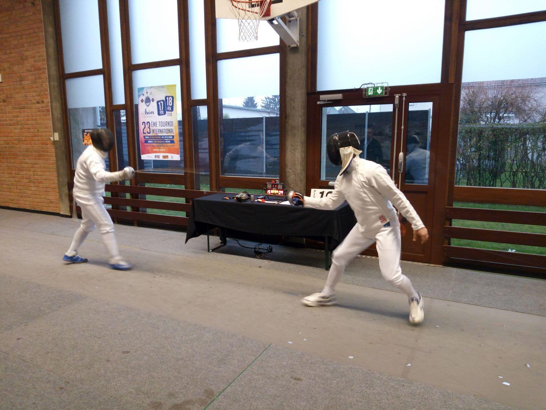 Dragos au tournoi d'Illzach