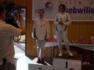 podium Benjamine Flavy 1ére, Angel 2