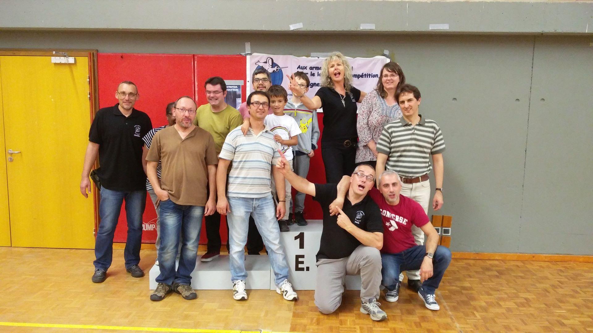 Bénévoles du tournoi d'escrime de Wittenheim 2017